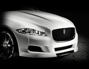 Jaguar XJ & XJR All Black Main Grille Replacement (2010-2015 Models)