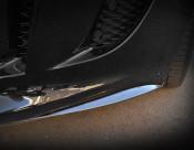 Jaguar F-Type Carbon Fiber Front Bumper Side Fins Finishers