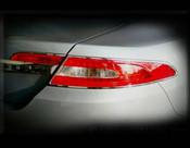 Jaguar XF & XFR Chrome Taillight Trim Surrounds (07-2011 models)