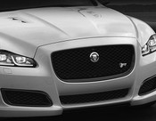 Jaguar XJR Style Black Lower Middle Mesh Grille Replacement