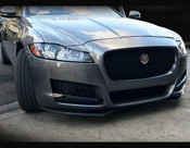 Jaguar XF Carbon Fiber Front Splitter Upgrade 2016-On
