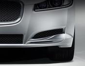 Jaguar XF 2012-2015 OE LH Bumper Side Grille Replacement w Chrome Splitter
