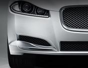 Jaguar XF 2012-2015 OE RH Bumper Side Grille Replacement w Chrome Splitter