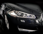 Jaguar XF & XFR Chrome Headlight Trim Surrounds (2012- Newer)