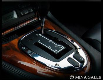 Jaguar XJ8 & XJR Chrome Shifter Bezel Replacement