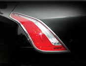 Jaguar XJ Taillight Chrome Surround Finishers