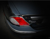 Jaguar X-Type Chrome Taillight Trim Surround set