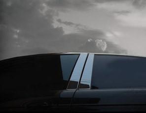 Jaguar X-Type Chrome Pillar Trim 6pcs Finisher set