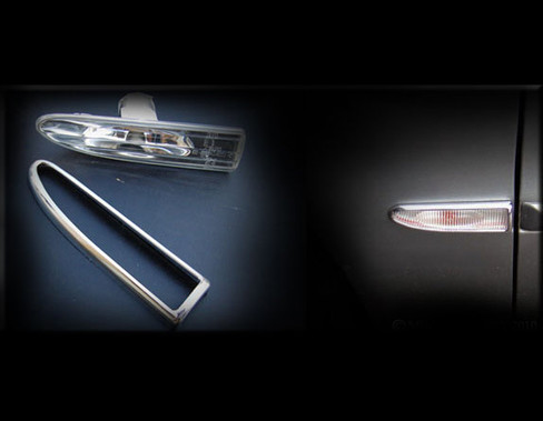 Jaguar X-Type Chrome Marker Light Trim Surround