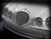 Jaguar S-Type Lower Mesh Grille (Bright stainless or Black) 99-04