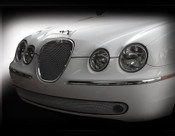 Jaguar S-Type Lower Mesh Grille (Bright stainless or Black) 05-07