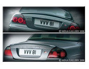 Jaguar S-Type Rear Lip Spoiler 99-2008 models