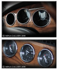 Jaguar XK8 & XKR Chrome Dash Instrument Ring set 6pcs kit