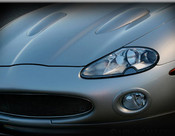 Jaguar XK8 & XKR Black European Style Mesh Grille Assembly