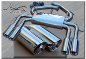 Jaguar XKR Mina Gallery Performance exhaust 2010-2011 models