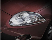 Jaguar XK & XKR Chrome Headlight Trim Surrounds