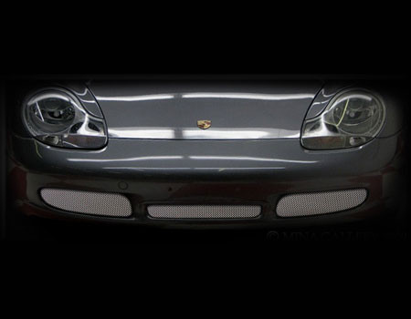 Porsche Boxster S Lower Mesh Grille Set 1996-2004