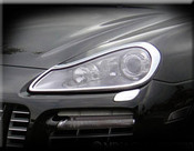 Porsche Cayenne Headlight Trim Surround Finishers 2007-2010