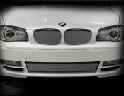 BMW 128 Lower Mesh Grille Black or Bright Stainless 09-2011