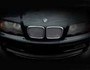 BMW 3 Series Complete Kidney Mesh Grilles (2 door models) 99-03