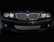 BMW 3 Series w/perf pkg Lower Mesh Grille  (2 door models) 99-05