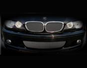 BMW 3 Series w/perf pkg Lower Mesh Grille  (4 door models) 99-05