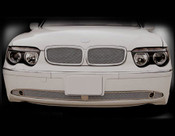 BMW 7 Series; 745 Complete Kidney Mesh Grille Set 2002-2005