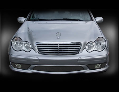 Mercedes C32 C320 AMG / Sport Lower Mesh Grille set 01-07