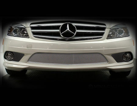 Mercedes c class c350 c300 sport lower mesh grille 2008 for Mercedes benz c300 grill