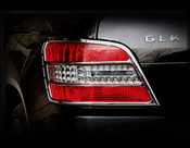 Mercedes GLK Taillight Chrome Trim  Finisher set 2009-2012