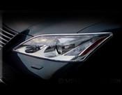 Lexus ES  Headlight Chrome Trim Finisher Set 2007-2011