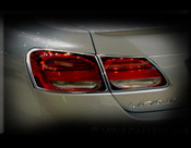 Lexus GS Taillight Chrome Trim Finisher Set 2005-2007
