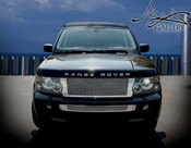Range Rover Sport Complete Mesh Grille Kit 06-2009 (Black or Chrome)
