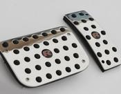 Jaguar XF & XFR Custom Pedal Upgrade 3pcs kit (2007-2011 models)