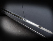 Jaguar XF & XFR Bright Stainless Door Base Spears