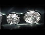 Jaguar XJ8 & XJR Chrome Headlight Trim Surround