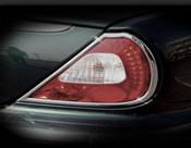 Jaguar XJ8 & XJR Chrome Taillight Surround