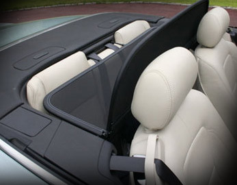 Jaguar XK & XKR Convertible Wind Screen Deflector