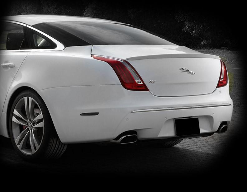 Jaguar Xj Speed Style Sport Rear Spoiler Upgrade Mina
