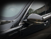 Jaguar XF & XFR Real Carbon Fiber Mirror Cover Finishers
