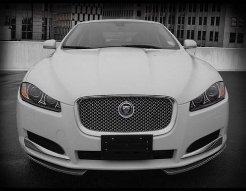 Jaguar Xf Carbon Fiber Front Splitter Upgrade 2012 2015