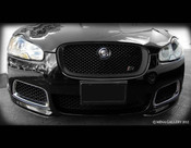 Jaguar XF & XFR All Black Grille Replacement (2007-2011 models)