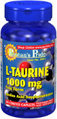 L-TAURINE 1000MG BOTTLE