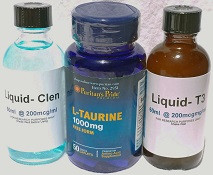 CLENBUTEROL-TAURINE-T3 PACKAGE