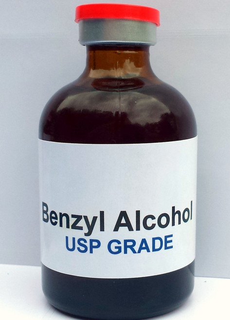 Buy your 100ml benzyl alcohol at worldwidepeptides.com ...