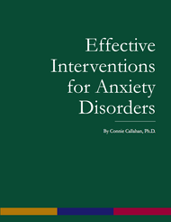 Effective Interventions for Anxiety Disorders (Connie Callahan) - eBook