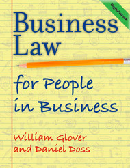 Business Law for People in Business (Glover & Doss) - eBook