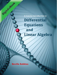 A Concise Introduction to Differential Equations and Linear Algebra (Neville Robbins) - eBook