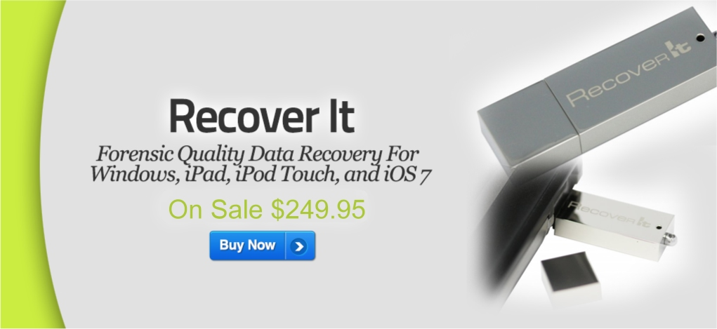 Check out the Data Recover Stick