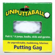 Unputtable Golf Ball